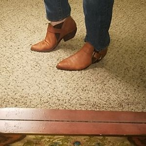 Vintage Guess? By Georges Marciano Leather Booties